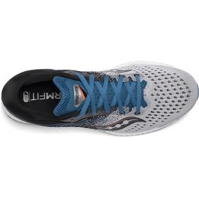 saucony Freedom ISO 3 Zapatillas Hombre, grey/blue